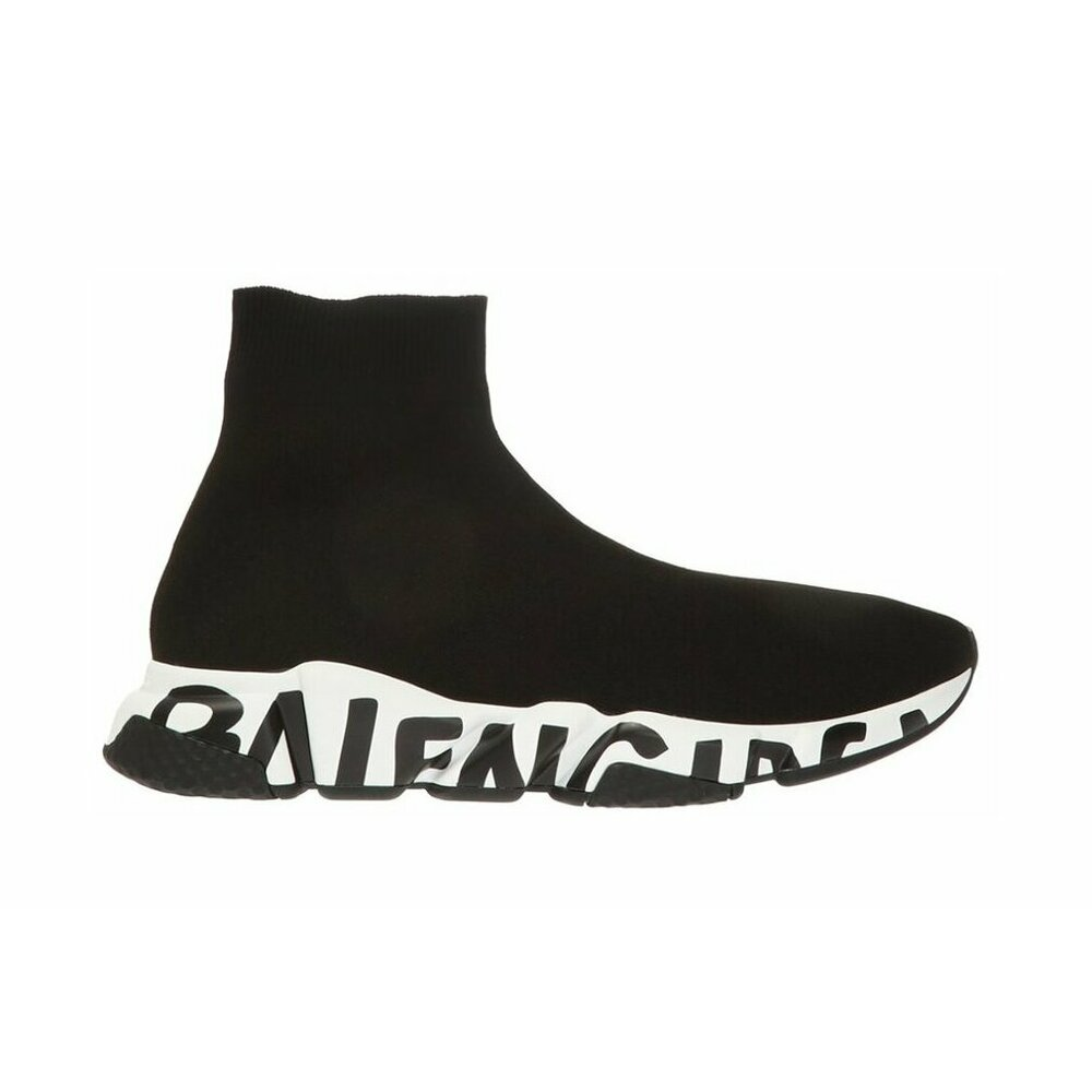 "Balenciaga Sneaker ""Speed Graffiti"" Svart"