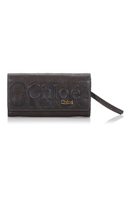 Leather Eclipse Long Wallet