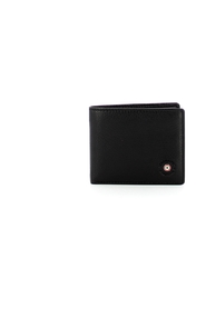 Leather wallet with coin purse and RFID