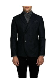 Double-Breasted Boxy Fit Blazer