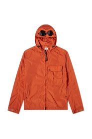 Chrome-R Mixed Garment Dyed Goggle Overshirt