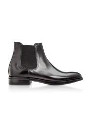 Chelsea Black Calfskin Boots