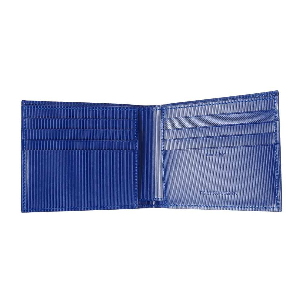 Mænds Wallet Bfold Strem Black and Blue