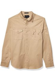 Shirt  Button Down Utility Flight