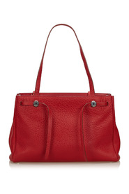 Leather Herbag Cabas