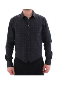 Checkered Formal Vest