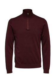 Sweater with half zip