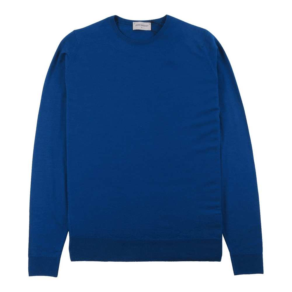 Lundy Pullover CN LS Blue