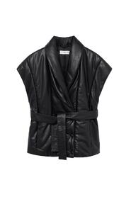 gilet with belt