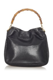 Pre-owned Bamboo Leather Handbag