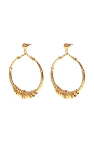 Maranzana gold-plated earrings