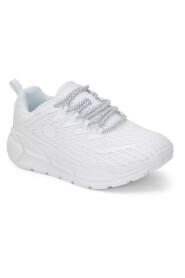 Wht-White Sneakers