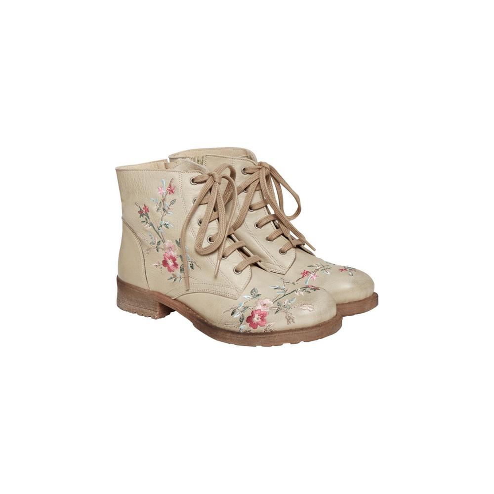 CREAM DELANY BOOT 10401016