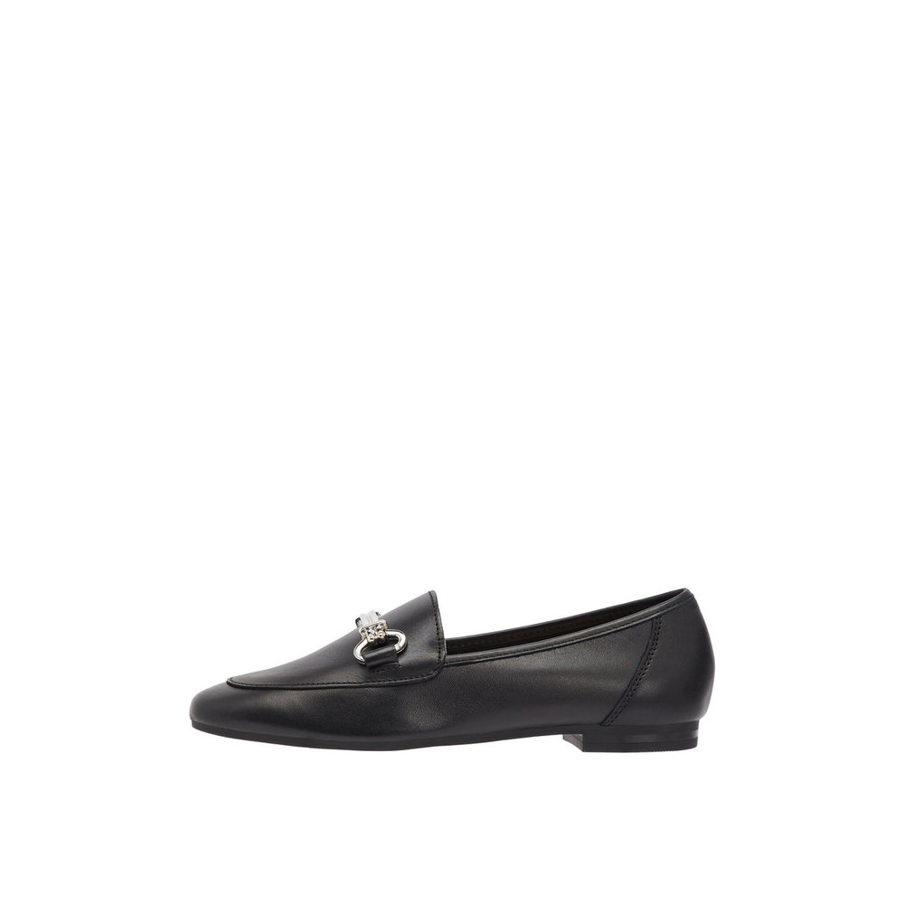 Loafers Metal Buckle Leather