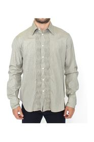 Striped Cotton Casual Long Sleeve Shirt