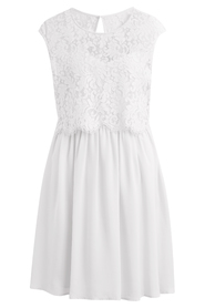 Viulvica dress white  - Vila