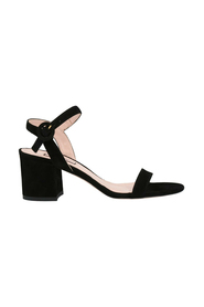 Suede sandals with Elen heel