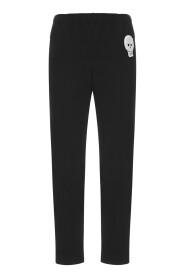 Skull straight-leg trousers
