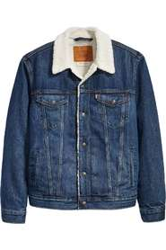 LEVI'S Type 3 sherpa denim trucker jacket Spijker jassen Denim