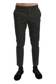 Polka Dots Casual Trousers