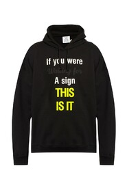 Printed hoodie