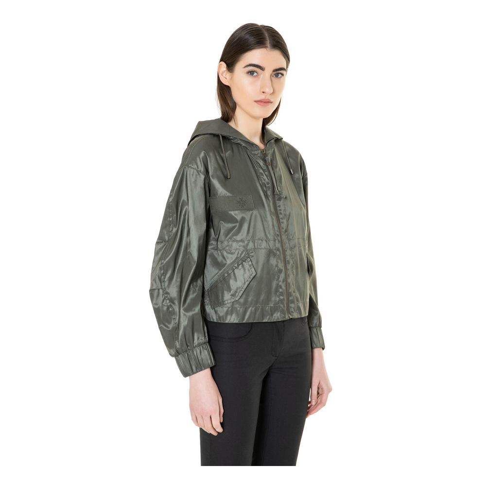 Mr&Mrs Italy DARK GREEN/LIME JACKET WITH FEATHERS Mr&Mrs Italy