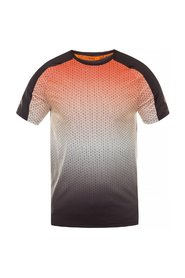Patterned performance T-shirt