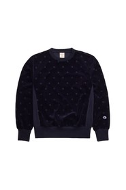 VELOR SWEATSHIRT