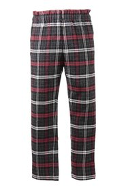 Tartan linen & virgin pants