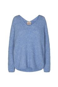 Thora V-Neck Knit Strik Pullover