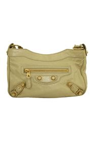 Beige Giant Hip Crossbody Bag