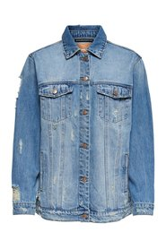Denim jacket Oversize destroy