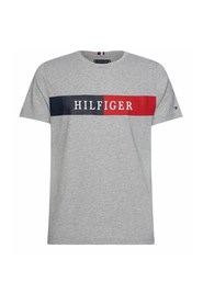 TOMMY HILFIGER MW0MW13331 BLOCK STRIPR T SHIRT AND TANK Men GREY