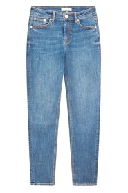 Straight cut denim trouser