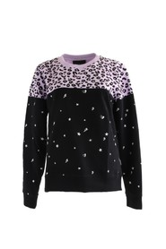 Sweater Leopard Star - Colourful Rebel