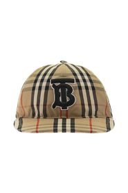 Monogram Motif Vintage Check Cotton basebollkeps