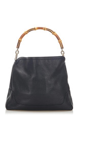 Bamboo Satchel Leather Calf