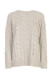 BRAIDED SWEATER L/S CREW NECK