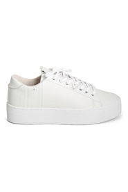 Hvit Hub Hook-W Xl Leather Sneakers, Bn 454