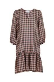 LIZZY SOFT CHECK DRESS