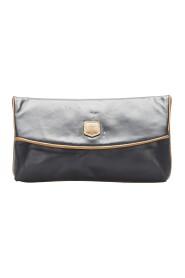 Begagnade Clutch Bag Leather Calf
