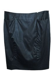 Black Woolen Skirt