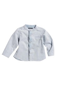 Marc O'Polo Junior - Skjorte - Light Blue/White