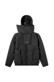 Logo Zipped Hooded Jacket