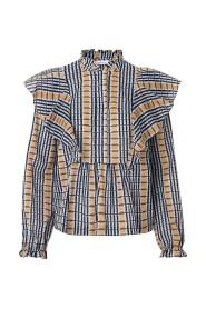 Ruter Samsøe Samsøe Martha Shirt Aop 11159 Skjorte