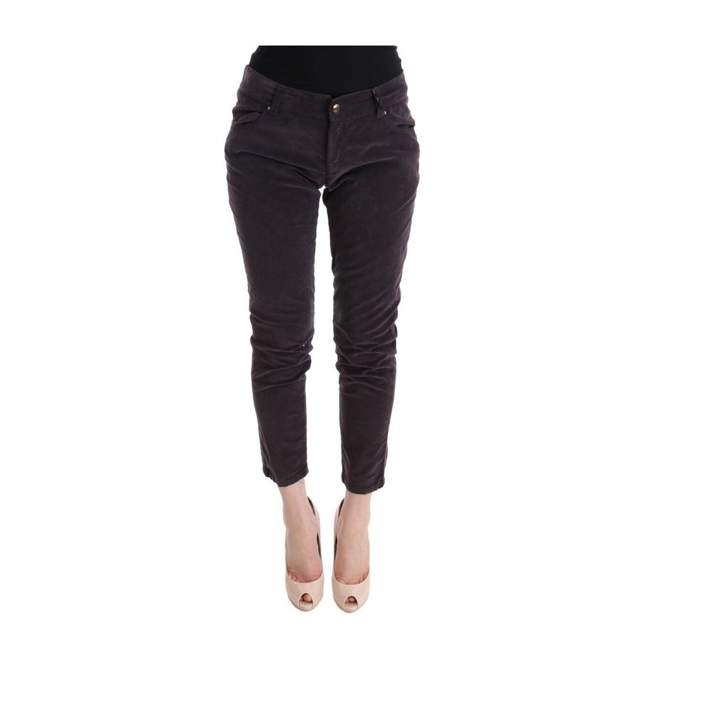 Cropped Casual Pants