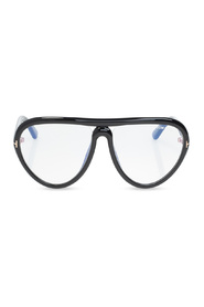 Optical glasses with logo