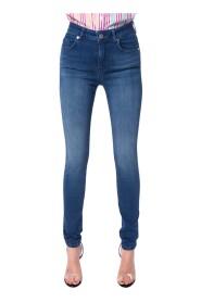 Jeans skinny vita alta MAJAGUA