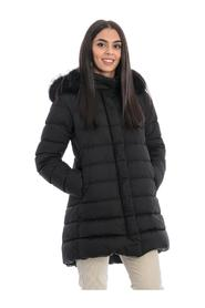 MEDIUM LENGTH DOWN JACKET WITH HOOD
