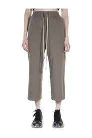 Cropped Tracksuit Trousers